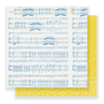 Crate Paper - Gather Collection - 12 x 12 Double Sided Paper - Melody