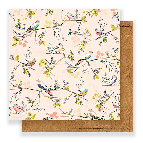 Crate Paper - Gather Collection - 12 x 12 Double Sided Paper - Kindred