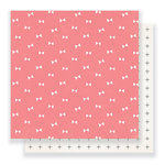 Crate Paper - Gather Collection - 12 x 12 Double Sided Paper - Blush