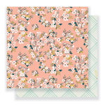 Crate Paper - Gather Collection - 12 x 12 Double Sided Paper - Kate