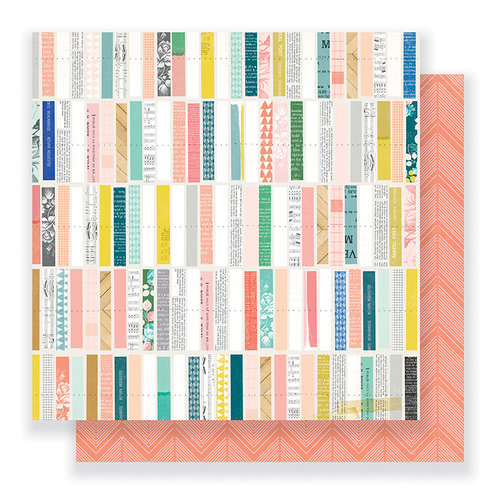 Crate Paper - Gather Collection - 12 x 12 Double Sided Paper - Details