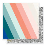 Crate Paper - Gather Collection - 12 x 12 Double Sided Paper - Pure Joy