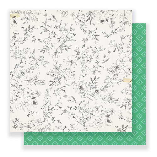 Crate Paper - Gather Collection - 12 x 12 Double Sided Paper - So Sweet