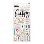 Crate Paper - Gather Collection - Thickers - Chipboard Accents - Blessed