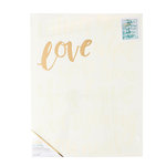 Crate Paper - Color Reveal Collection - Watercolor Panel - 16 x 20 - When You Love
