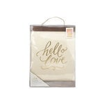 Crate Paper - Color Reveal Collection - Watercolor Hanging Print - 11 x 15 - Hello Love