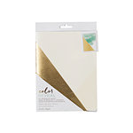 Crate Paper - Color Reveal Collection - Watercolor Notebook - 6 x 8 - Diagonals