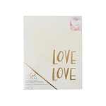 Crate Paper - Color Reveal Collection - Watercolor Panel - 8 x 10 - Love Love