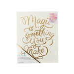 Crate Paper - Color Reveal Collection - Watercolor Panel - 8 x 10 - Magic is Something