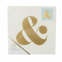 Crate Paper - Color Reveal Collection - Watercolor Panel - 10 x 10 - Ampersand
