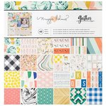 Crate Paper - Gather Collection - 12 x 12 Paper Pad