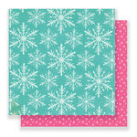 Crate Paper - Snow and Cocoa Collection - 12 x 12 Double Sided Paper - Wonderland