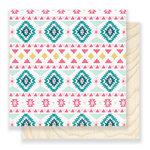 Crate Paper - Snow and Cocoa Collection - 12 x 12 Double Sided Paper - Sweater