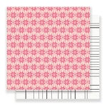 Crate Paper - Snow and Cocoa Collection - 12 x 12 Double Sided Paper - Fallen Snow