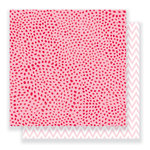 Crate Paper - Heart Day Collection - 12 x 12 Double Sided Paper - Dreamy