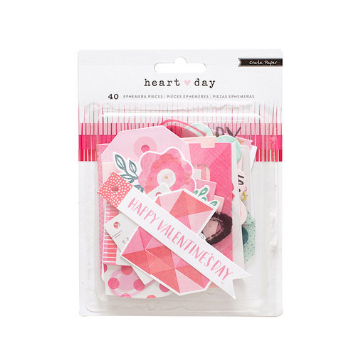 Crate Paper - Heart Day Collection - Ephemera
