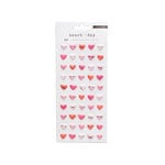 Crate Paper - Heart Day Collection - Puffy Stickers - Hearts