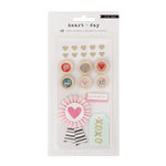 Crate Paper - Heart Day Collection - Mixed Embellishments