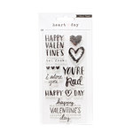 Crate Paper - Heart Day Collection - Clear Acrylic Stamps