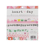 Crate Paper - Heart Day Collection - 6 x 6 Paper Pad