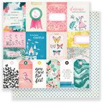 Crate Paper - Chasing Dreams Collection - 12 x 12 Double Sided Paper - Adventure