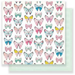 Crate Paper - Chasing Dreams Collection - 12 x 12 Double Sided Paper - Monarch