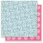 Crate Paper - Chasing Dreams Collection - 12 x 12 Double Sided Paper - Delicate