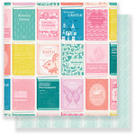Crate Paper - Chasing Dreams Collection - 12 x 12 Double Sided Paper - Library
