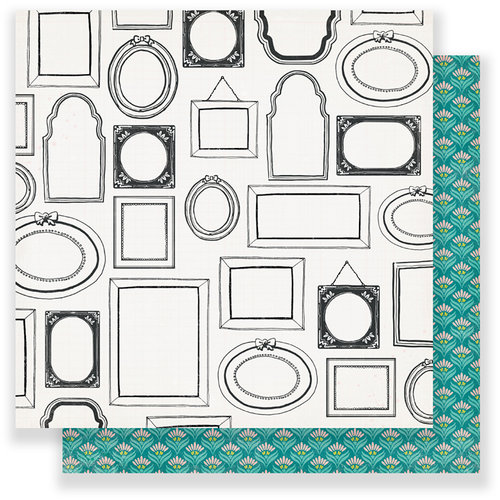Crate Paper - Chasing Dreams Collection - 12 x 12 Double Sided Paper - Portrait