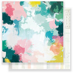 Crate Paper - Chasing Dreams Collection - 12 x 12 Double Sided Paper - Keepsake