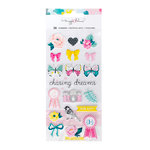 Crate Paper - Chasing Dreams Collection - Puffy Stickers - Accents