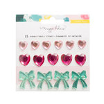 Crate Paper - Chasing Dreams Collection - Rhinestones Stickers