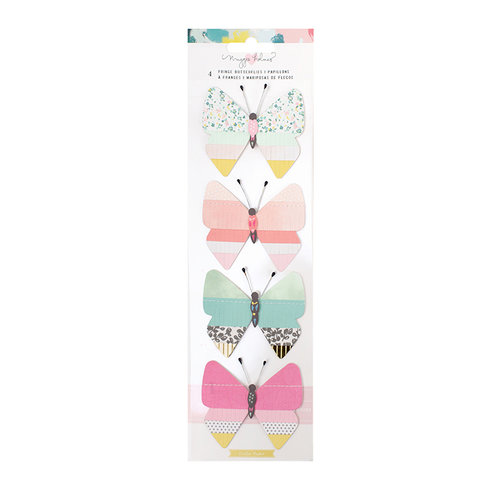 Crate Paper - Chasing Dreams Collection - Fringe Butterflies