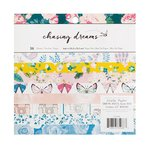 Crate Paper - Chasing Dreams Collection - 6 x 6 Paper Pad