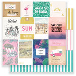 Crate Paper - Oasis Collection - 12 x 12 Double Sided Paper - Palm Springs