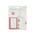 American Crafts - Go Now Go Collection - Patterned Luggage Tags