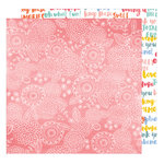 American Crafts - Oh Happy Life Collection - 12 x 12 Double Sided Paper - Sweet Thing