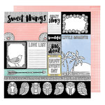 American Crafts - Oh Happy Life Collection - 12 x 12 Double Sided Paper - Big Deal