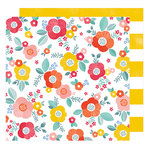 American Crafts - Oh Happy Life Collection - 12 x 12 Double Sided Paper - Good Morning