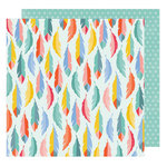American Crafts - Oh Happy Life Collection - 12 x 12 Double Sided Paper - A Great Day