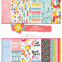 American Crafts - Oh Happy Life Collection - 12 x 12 Paper Pad