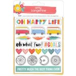 American Crafts - Oh Happy Life Collection - Sticker Book