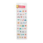 American Crafts - Oh Happy Life Collection - Puffy Stickers - Mini Icons
