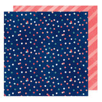 American Crafts - Saturday Collection - 12 x 12 Double Sided Paper - Skyline