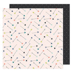 American Crafts - Saturday Collection - 12 x 12 Double Sided Paper - The Empire