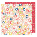 American Crafts - Saturday Collection - 12 x 12 Double Sided Paper - Times Square