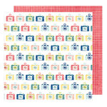 American Crafts - Saturday Collection - 12 x 12 Double Sided Paper - Bright Lights