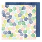 American Crafts - Saturday Collection - 12 x 12 Double Sided Paper - Bagels