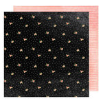 American Crafts - Saturday Collection - 12 x 12 Double Sided Paper - Washington Square