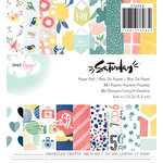 American Crafts - Saturday Collection - 6 x 6 Paper Pad